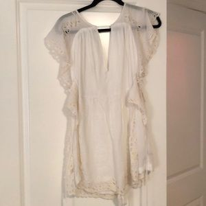 Free people eyelet dress/romper -NWOT